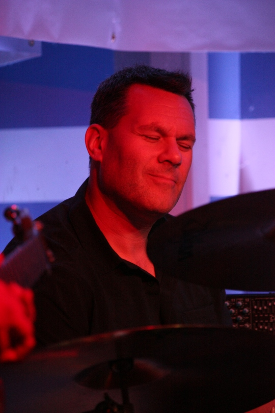 Drummer Jeff Goodmark of The Uncommons shown