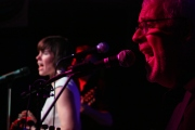 The Uncommons band, Kevin Moss on keyboards, Kelly Serbonich on vocals